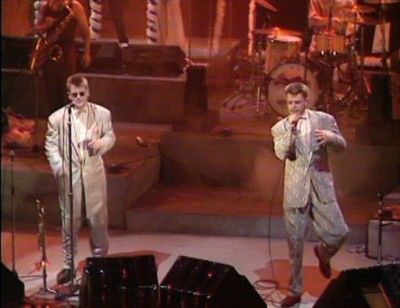 Madness The Whistle Test 85 86 1985 BBC BBC2 Suggs Carl Smyth Cathal Chas Smash Old Grey