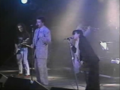 Ian Dury Madness Suggs Chris Chrissy Boy Foreman Finsbury Park Christmas for the Unemployed Burning the Boats 1985 blockheads