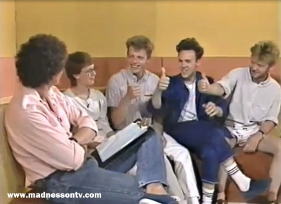 Mick Robertson & Madness on Freetime 1983